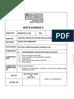 Nota Autocad Ortografik