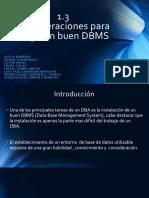 1.3 Admon DB