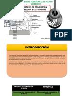 Motores de combustión interna y Turbinas