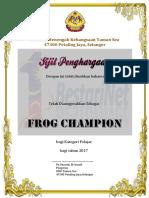 Sijil Penghargaan Vle Frog