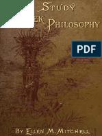 A Study of Greek Philosophy