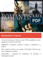Slide Romantismo