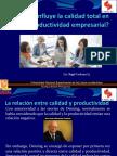 Como afecta la calidad a las organizaciones