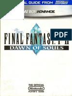 Final Fantasy I & II - Dawn of Souls Nintendo Power Official Strategy Guide