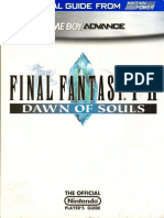 Final Fantasy I & II - Dawn of Souls Nintendo Power Official Strategy Guide