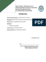 Informe Final Loncheras Nutritivas 2017