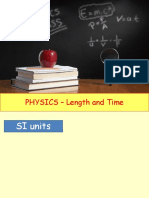 Physics 1 - Length and Time