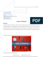 Types of Switches _ Electrical Technology