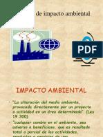Estudios de Impacto Ambiental Gestion y Lesgilacion Ambiental