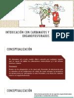 Intoxicación con Carbamatos y Organofosforados.pptx