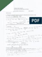 Solucionario Del Parcial Quimica Organica 17B