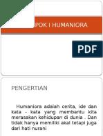 Humaniora k 1