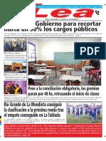 Periódico Lea Lunes 05 de Marzo Del 2018