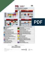 Calendario s d16