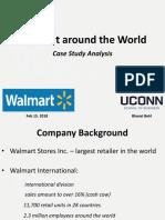 Walmart Around the World - Case Study