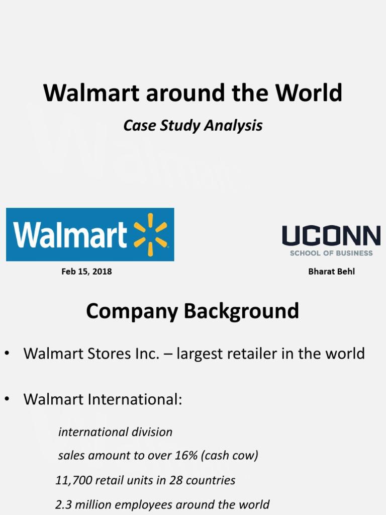 Walmart Around the World - Case Study | Walmart | Market