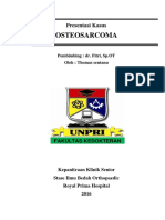 Case Osteosarcoma RPH