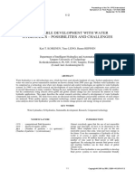 Sustainable Development With Water Hydraullic