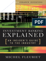 Investment Banking Explained, An Insider's Guide to the Industry