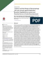 jurnal virologi isolasi bacteriofage