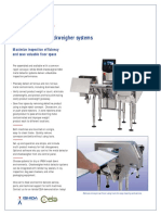Combination MD and Checkweigher Systems