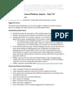 UASU 2018 Candidate Platform Analyses