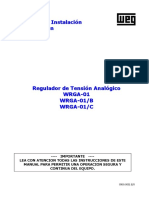 Reguladores de Tension Analogico WRGA