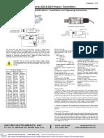 Dwyer 626 13 GH P1 E4 S1 User Manual 0 300