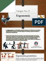 Grupo No 2 Ergonomia