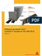 Manual Software Sika Carbodur Aci440