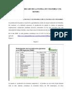 Estudio Del Mercado de La Panela en Colombia y en El Mundo