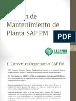 Gestión de Mantenimiento de Planta SAP PM cacperu.pptx