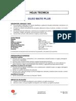 Oleo Mate Plus Ficha Tecnica