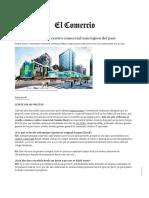 Camino Real Será El Centro Comercial Más Lujoso Del País _ Economía _ Negocios _ El Comercio Perú