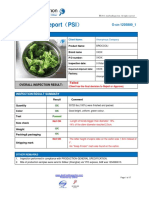 China Food Inspection Report