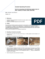 WFP Sampling Instructions for Assessing Microbiology and or Toxin of Stacked 'Flour' Foods SOP Wfp254541