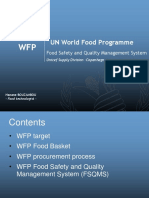 Hanane Bouzambou - WFP - Food Safety and Quality Management System