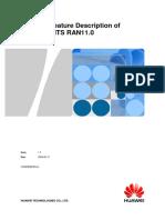 Optional Feature Description of Huawei UMTS RAN11_0