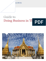Guide to Doing Business in Thailand