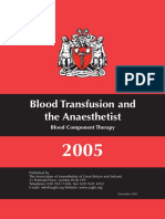Blood transfusion and the Anaesthetist - Blood component therapy 2005.pdf