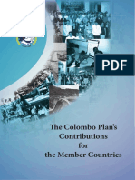 The ColomboPlans Contributions for Themembercountries