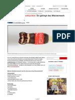 170713 REZEPT Coca-Cola Flaschenkuchen