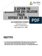TRAIN Part 4 - Documentary Stamp Tax