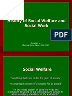 History of Social Welfare and Sw