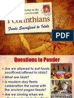 Foods Sacrificed to Idols