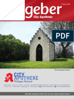 Ratgeber aus Ihrer City-Apotheke – März 2018