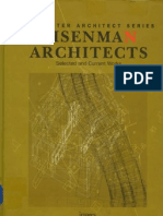The Master Architect Series-Peter Eisenman