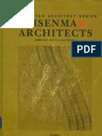 The Master Architect Series-Peter Eisenman