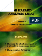 Job Hazard Analysis Lesson 3