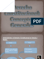 Conceptos Generales - D.constitucional